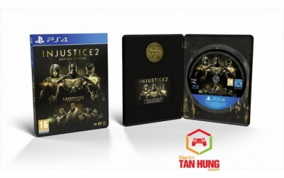 Injustice 2 Legendary Edition SteelBook