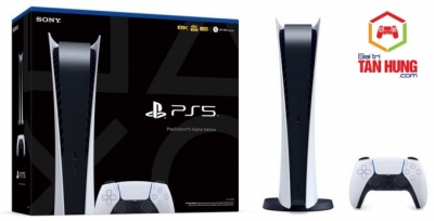 Máy PlayStation 5 Digital Hàng Xách tay