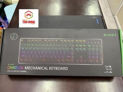 Bàn phím cơ G-Net K89 Led RGB có kê tay