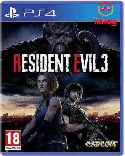 Resident Evil 3 Remake Asia bản kèm DLC
