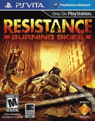 PSVITA-Resistance: Burning Skies