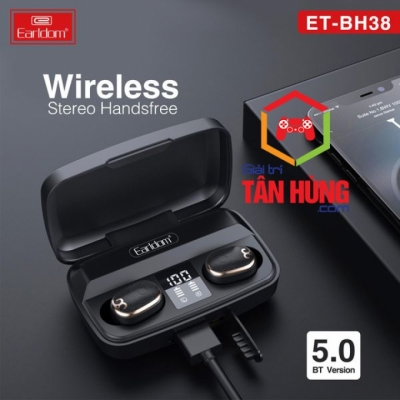 Tai Nghe Bluetooth True Wireless Earldom ET-BH38