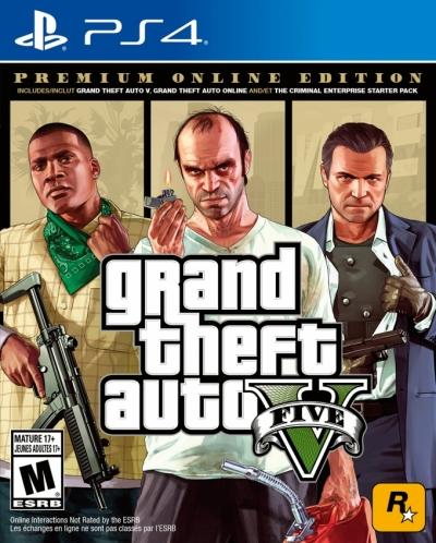 Grand Theft Auto V Premium Online Edition US