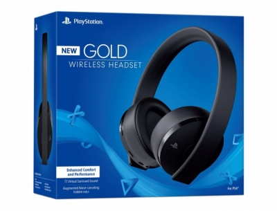 Tai Nghe PlayStation 4 Gold Wireless 7.1 2018 US