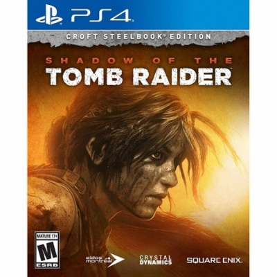 Shadow of The Tomb Raider SteelBook Edition US