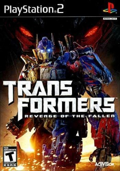 Game PS2-TRANSFORMERS : REVENGE OF THE FALLEN