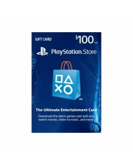 $100 PlayStation Store Gift Card - US