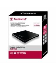 Ổ quang gắn ngoài Transcend portable CD/DVD Writer 8XDVDS (TS8XDVDS-K)