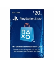 $20 PlayStation Store Gift Card - US