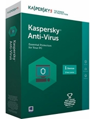 KASPERSKY ANTI VIRUS 1 PC