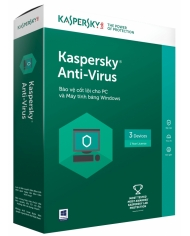 KASPERSKY ANTI VIRUS 3 PC