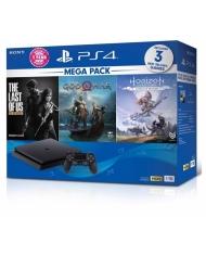 Combo MeGa Pack Máy PS4 Slim 1Tb Chính hãng Sony VN
