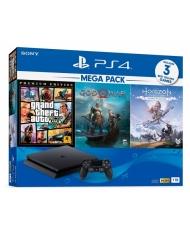 Combo Máy PS4 Slim MeGaPack2 1Tb Chính hãng Sony VN