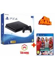 Combo Máy PS4 Slim 1Tb Chính hãng Sony VN Kèm Pes 21