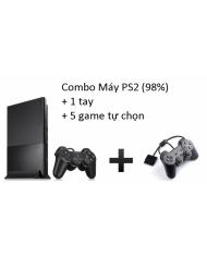 Combo Máy PS2 (98%) đời 9000 + 2 tay + 5 game tự chọn