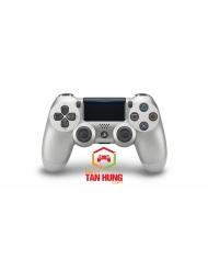 Tay cầm chơi game DUALSHOCK®4 Wireless Controller Slim Pro Version - Silver Chính Hãng