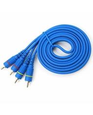 Dây AV Choseal màu xanh 1,8M