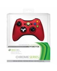 CHROME XBOX 360 WIRELESS CONTROLLER