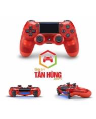 Tay Cầm PS4 Slim Pro DualShock 4 Crytal Red Chính Hãng