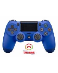 Tay cầm chơi game PS4 DUALSHOCK®4 Wireless Controller Slim Pro Version - Wave Blue Color Chính Hãng BH 12 tháng