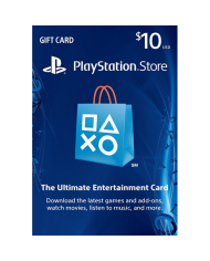 $10 PlayStation Store Gift Card - US
