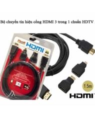Bộ chuyển tín hiệu cổng HDMI 3 trong 1 cho đầu chuẩn HDTV