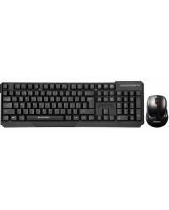 Bộ bàn phím và chuột không dây Ensoho E-113CB