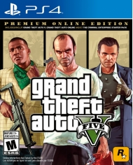 Grand Theft Auto V Premium Online Edition US