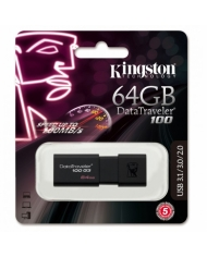 USB 3.1 KINGSTON DATATRAVERLER 100 64 GB