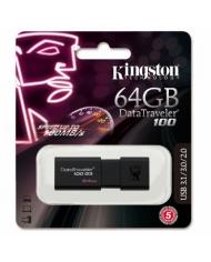 USB 3.1 KINGSTON DATATRAVERLER 100 64 GB