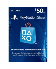 $50 PlayStation Store Gift Card - US