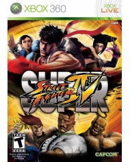 Đĩa game xịn Xbox360 Street Fighter IV (NTSCJ)