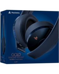 Tai Nghe PlayStation 4 Gold Wireless Headset 7.1 500Miliion Limited Edition