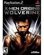 Game PS2-X-MEN ORIGINS WOLVERINE