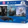 Combo MeGa Pack Máy PS4 Slim 1Tb Chính hãng Sony VN Kèm 04 Games