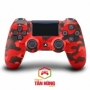 Tay Cầm PS4 Slim DualShock 4 Red Camouflage Chính Hãng