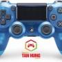 Tay Cầm PS4 Slim Pro DualShock 4 Blue Crytal Chính Hãng