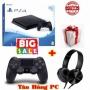 PlayStation 4 Slim 500GB (Hàng công ty) + Tai nghe Sony Extra Bass MDR-XB450 + 1 Tay game PS4 Slim