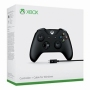 Xbox One S Wireless Controller - Black with Cable